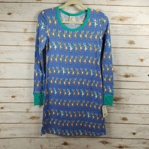 Nite Nite Munki Munki reighndeer pajama dress
